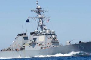 Tàu chiến Mỹ tiến vào Biển Đen, Nga điều tàu bám sát
