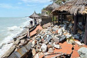 Cần giải pháp đồng bộ bảo vệ bãi biển Hàm Tiến - Mũi Né