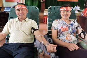 Chủ nhật đỏ ở Đác Lắc thu được 3.395 đơn vị máu