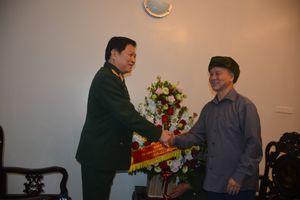 Đại tướng Ngô Xuân Lịch thăm, chúc Tết các đồng chí nguyên lãnh đạo Bộ Quốc phòng