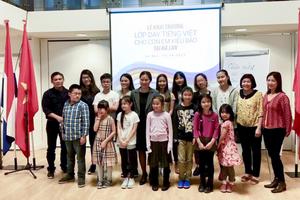 Nỗ lực cho lớp học tiếng Việt tại Hà Lan