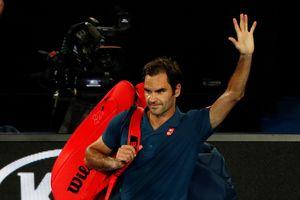 Úc mở rộng 2019: ĐKVĐ Federer thua 'sốc' ở vòng 4 trước Tsitsipas