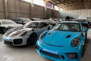Ngắm cặp đôi 911 GT2RS màu xám và GT3 RS vàng vừa về Việt Nam