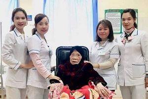 Bệnh viện huyện cứu sống cụ bà 103 tuổi bị gãy xương đùi nguy kịch