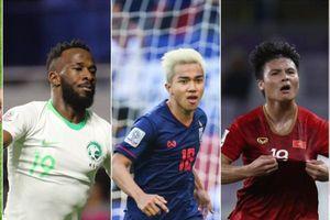 Tin vui ĐT Việt Nam, Quang Hải dẫn đầu bình chọn 'Bàn thắng đẹp nhất' và 'Cầu thủ hay nhất' vòng bảng Asian Cup