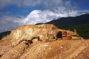 Công ty CP Đất Quảng phải hoàn thiện công trình xử lý chất thải của Dự án khai thác đất sét mới được đưa vào hoạt động