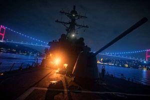 Giới chức Nga cảnh báo 'chạm trán' mới giữa tàu chiến Nga, Mỹ tại Biển Đen