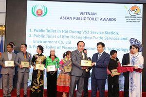 Việt Nam nhận giải thưởng 'Nhà vệ sinh công cộng ASEAN 2019'