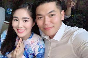 Diễn viên Lê Phương ngầm thông báo mang bầu lần hai với chồng mới cưới