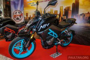 CFMoto 250 NK ra mắt tại Malaysia, giá từ 3.112 USD