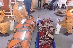 Cấp cứu thành công 4 thuyền viên bị ngạt khí hầm cá