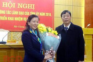 Tân nữ Phó Bí thư Thường trực Tỉnh ủy Bắc Giang là ai?