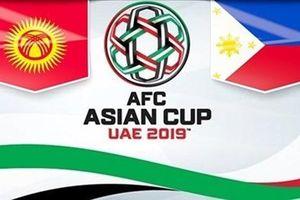 Nhận định UAE vs Kyrgyzstan Asian Cup 2019 lúc 0h ngày 22.1