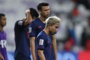 'Messi Jay' thất vọng về bản thân khi ĐT Thái Lan bị loại ở vòng 1/8