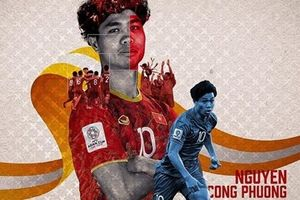 Liên đoàn bóng đá Châu Á ưu ái Công Phượng trong ngày sinh nhật