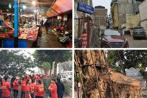 Tin tức Hà Nội 24h: Tiểu thương chợ tạm Dịch Vọng Hậu kêu cứu