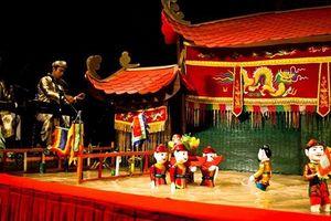 Rối nước Thăng Long lần đầu dự 'sân chơi' nghệ thuật Kerala