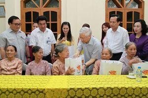 Tổng Bí thư, Chủ tịch nước Nguyễn Phú Trọng quyết định về việc tặng quà người có công với cách mạng nhân dịp Tết Nguyên đán Kỷ Hợi 2019