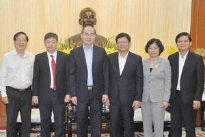 Bí thư Thành ủy TPHCM Nguyễn Thiện Nhân thăm, chúc Tết tại Đà Nẵng