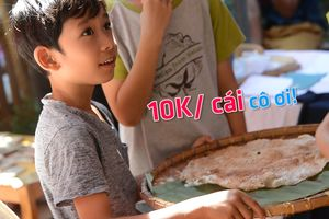 Trẻ em khu nhà giàu tập kiếm tiền dịp Tết