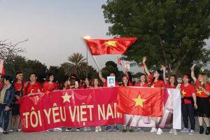Hàng trăm Cổ động viên sẽ đến UAE tiếp lửa cho đội tuyển Việt Nam