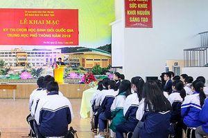 Phát hiện nhiều sai sót tại kỳ thi học sinh giỏi quốc gia