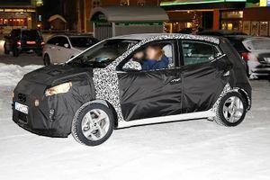 Lộ ảnh Hyundai Grand i10 thế hệ mới chạy thử trên phố