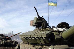 Quân đội Ukraine tập kết chuẩn bị tiến đánh vùng Donbass