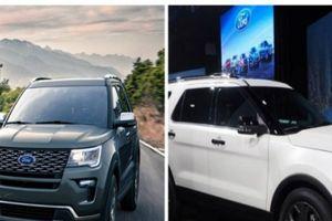 Ô tô Ford Explorer 2018 công nghệ hiện đại nhưng vẫn có những nhược điểm