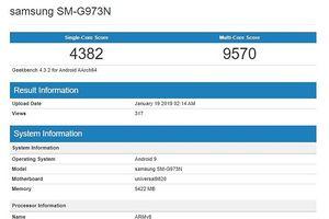 Galaxy S10 bản Exynos xuất hiện trên GeekBench, chỉ đứng sau iPhone XS Max