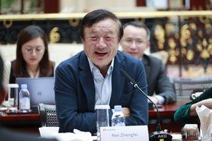 Ông Nhiệm Chính Phi trải lòng với báo chí sau loạt sự cố của Huawei