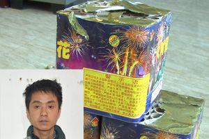 Thanh Hóa: Bắt giữ đối tượng tàng trữ 11,2 kg pháo nổ trái phép.