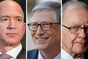 5 người giàu nhất sở hữu tài sản tương đương hơn 2% GDP của Mỹ