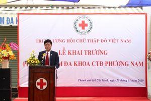 Khai trương phòng khám đa khoa Chữ thập đỏ Phương Nam