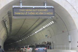 Thông xe hầm đường bộ qua đèo Cù Mông