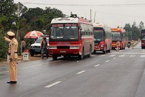 Yên Bái bắt đầu tổng kiểm soát kinh doanh vận tải hành khách và hàng hóa dịp Tết