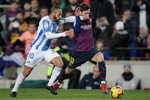 Lionel Messi 'nổ súng', Barca đả bại Leganes