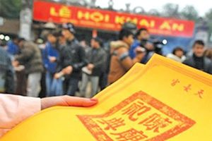 Lễ hội đền Trần 2019: Không thay đổi cách phát ấn