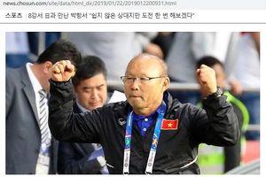 HLV Park Hang-seo 'mổ xẻ' đối thủ Nhật Bản trên báo Hàn Quốc