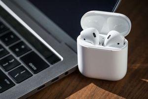 Cách kết nối tai nghe AirPods với MacBook bằng một cú click chuột