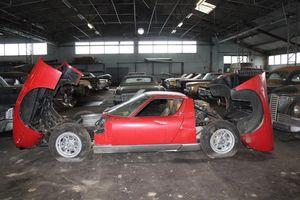 Phát hiện Lamborghini Miura trong kho xe cổ bị bỏ quên
