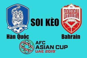 Soi kèo Hàn Quốc vs Bahrain Asian Cup 2019: Chiến thắng dễ dàng