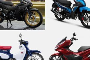 Top xe máy Honda đang giảm giá mạnh nhất hiện nay