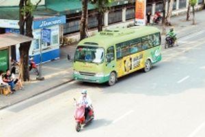 Thu hút hành khách nội đô bằng xe buýt nhỏ