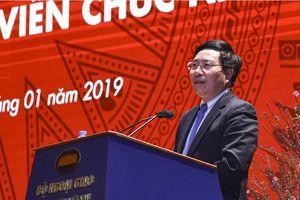 Bộ Ngoại giao, Bộ Khoa học và Công nghệ triển khai công tác năm 2019