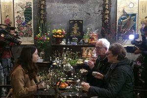 Trải nghiệm 'Nét Xuân xưa' tại phố cổ Hà Nội'