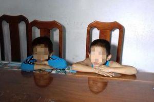 Tìm gia đình 2 trẻ 7 và 9 tuổi gây ra gần 30 vụ trộm