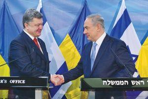 Israel, Ukraine ký thỏa thuận thương mại tự do