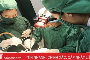 Bệnh viện Nghi Xuân triển khai cắt Aminđan bằng dao điện gây mê nội khí quản