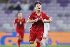 Quang Hải đứng đầu danh sách các cầu thủ hay nhất vòng bảng Asian Cup 2019